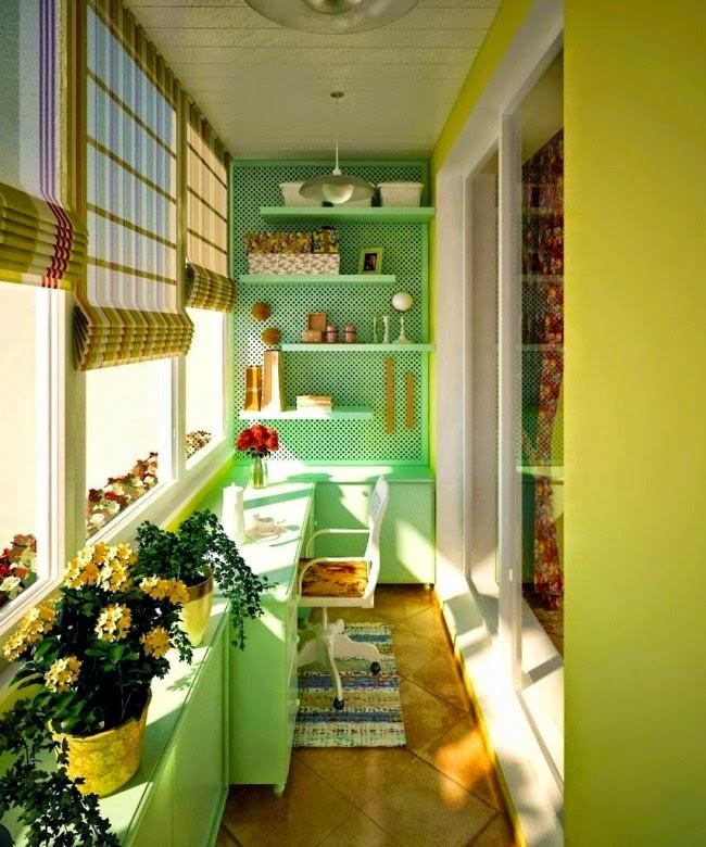 20 гениальных идей для вашего балкона