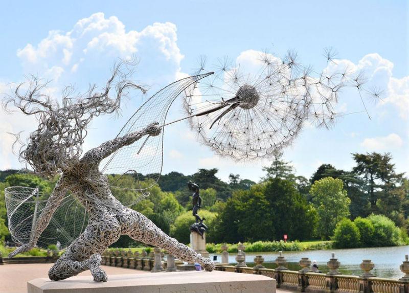 19 скульптур, которые неподвластны законам физики