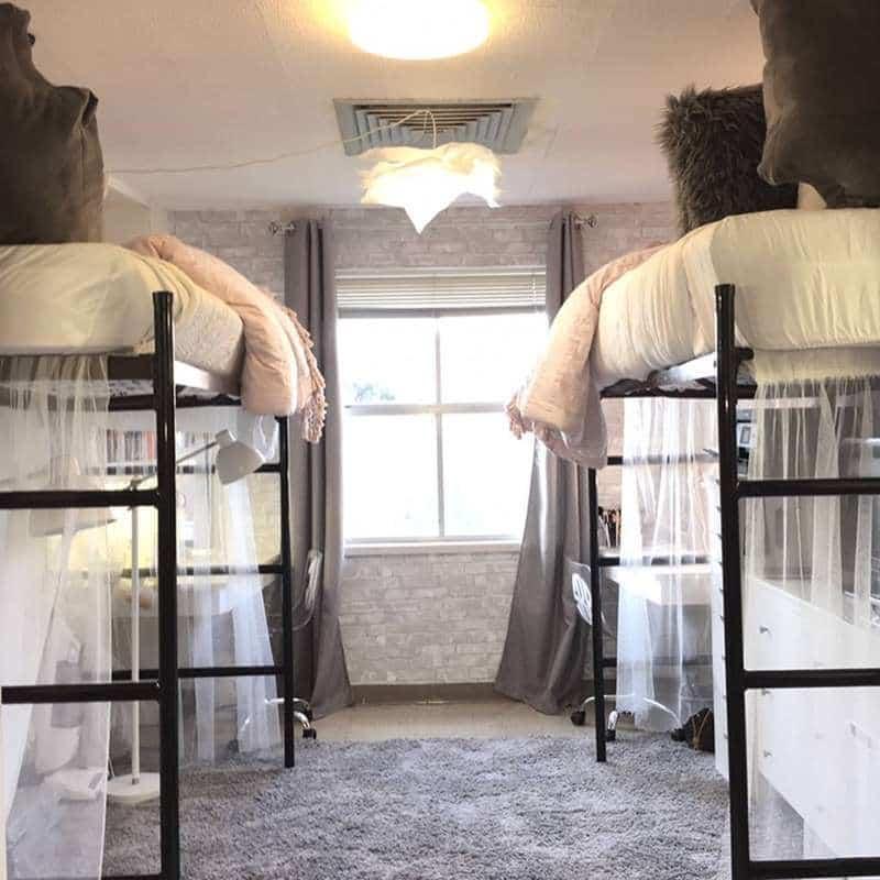 Эти девушки превратили комнату в общежитии в комнату мечты всего за 10 часов