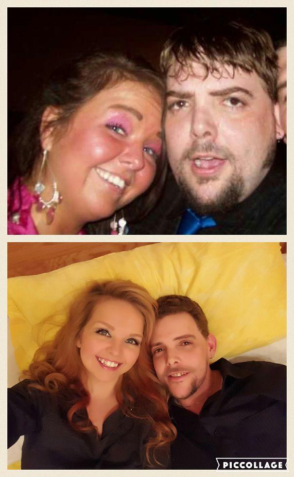 14 потрясающих фото, сделанных до и после того, как люди бросили пить