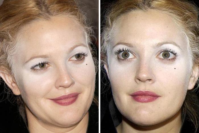 25знаменитостей ссамым неудачным макияжем