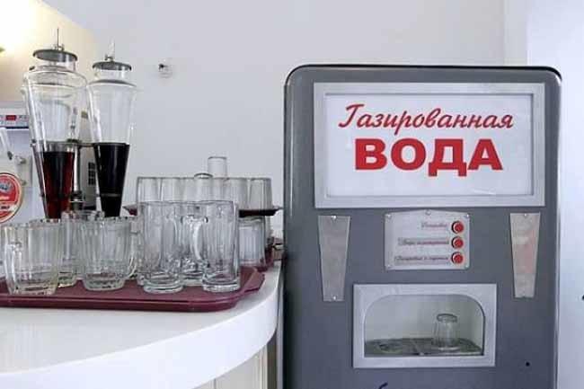 Советская газировка инапитки нашего детства