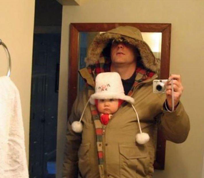 20 причин, почему вы не должны оставлять ребенка наедине с папой!
