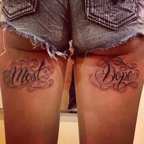 Девушки, никогда неделайте себе таких татуировок!