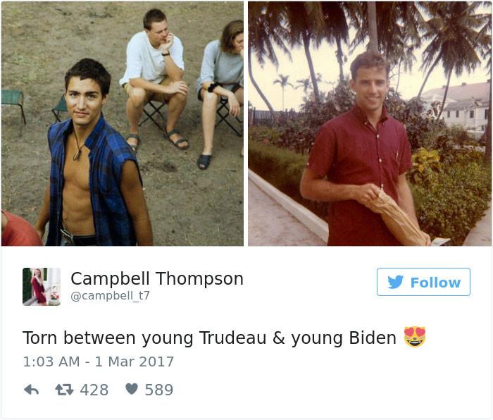 Фотографии юного канадского премьера - этопросто отпад!