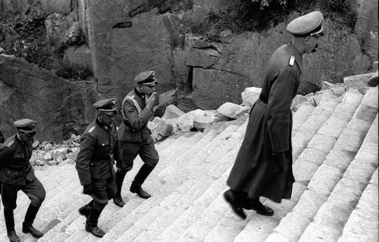 История концлагеря Маутхаузен иеголестницы