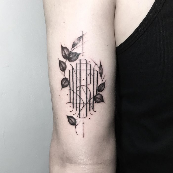 Отличные минималистские тату отфранцузского художника