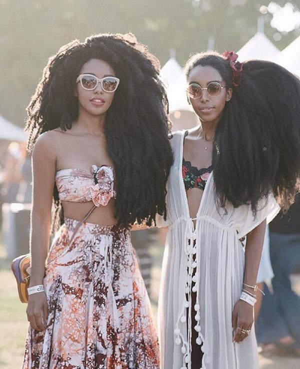 Эти близняшки ломают стереотип о том, что афро-прическа — это некрасиво.