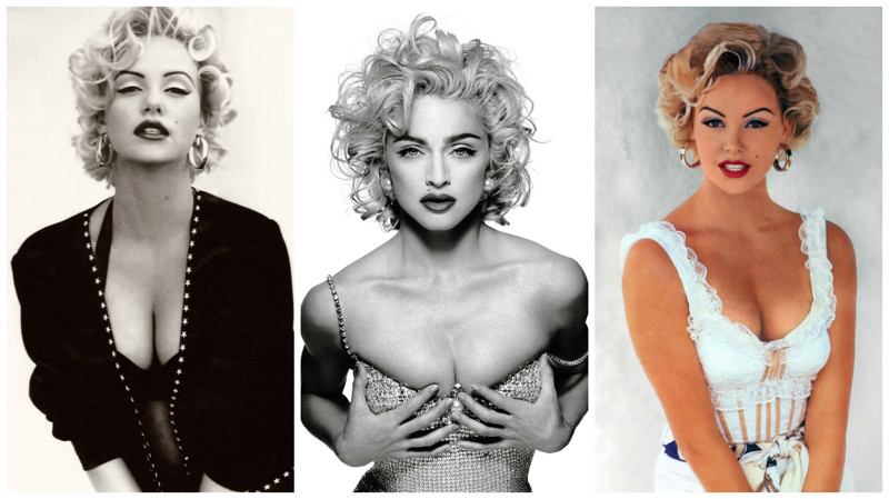 Знаменитые красавицы вобразе Мерилин Монро