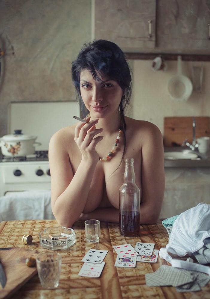 Фотосессия озорных прачек отукраинского художника