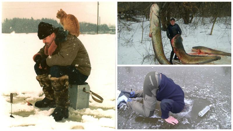 Зимняя рыбалка - этоудовольствие, которое можно получить нераздеваясь