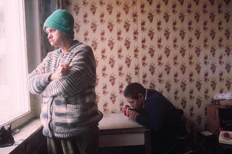 Семья Яковлевых, Москва, 1993 год