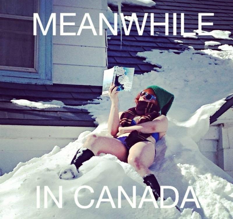 Темвременем вКанаде