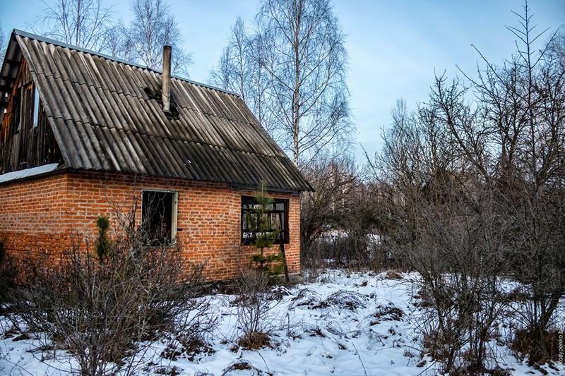 Покинутое Село вЧернобыле! Новогодняя прогулка