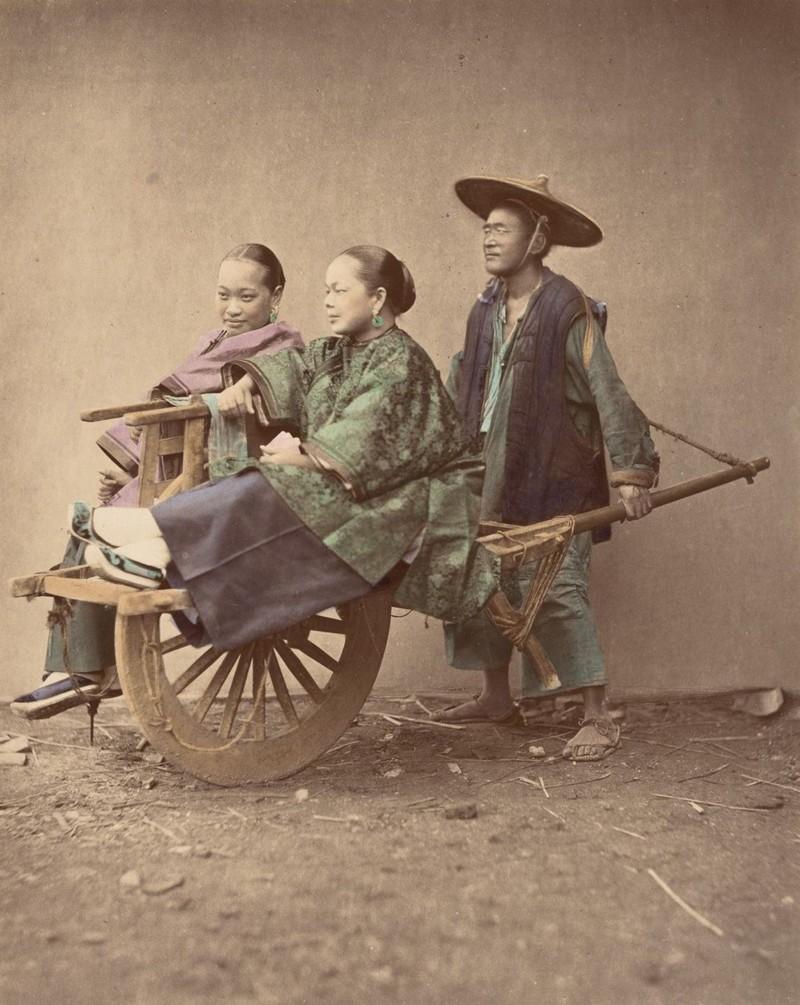 Этираскрашенные фото показывают, каквыглядели жители Китая в1875 году