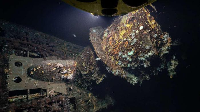 В Атлантическом океане найдена нацистская подлодка, получившая известность благодаря кино