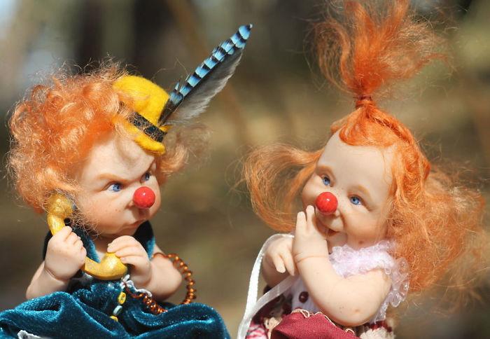 Маленькие ибезумно симпатичные куклы