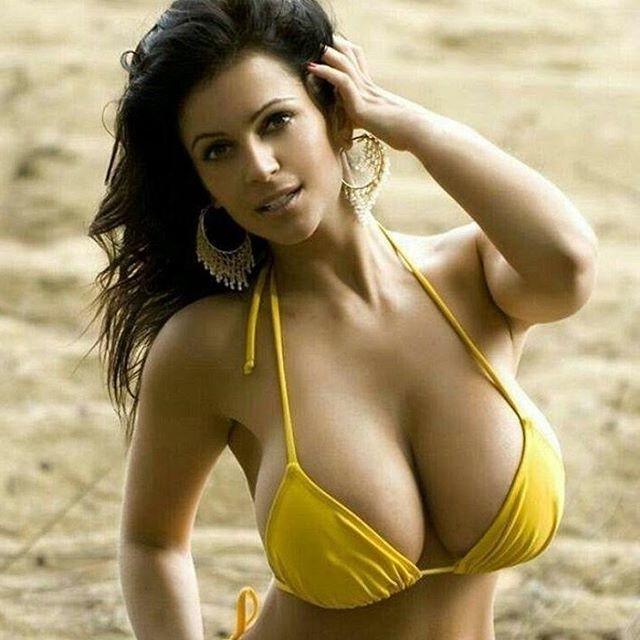 Большая грудь... Разве этокрасиво?