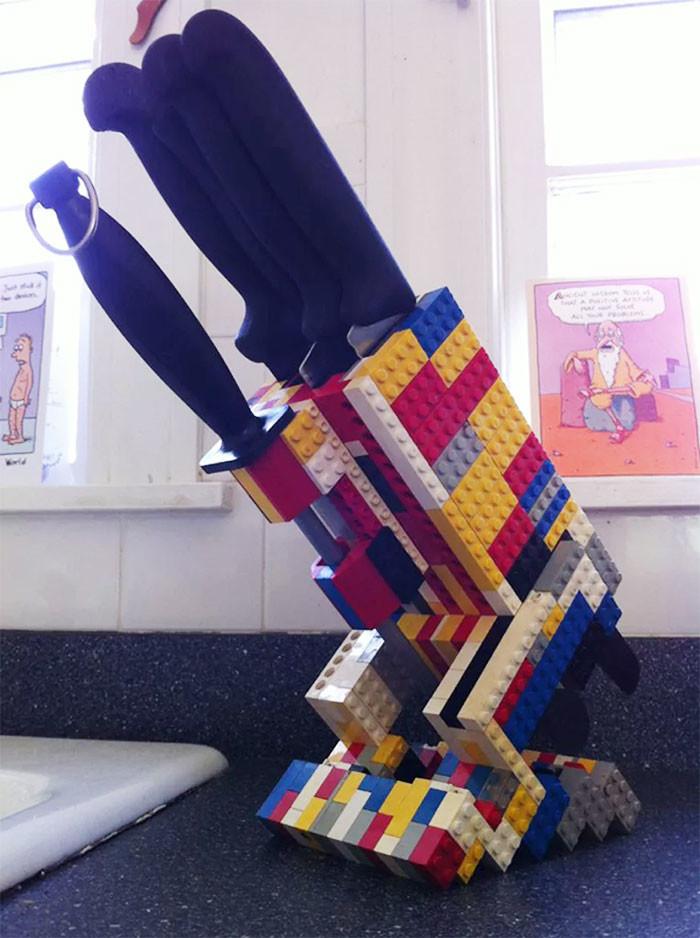 Гениальные способы использования Лего!