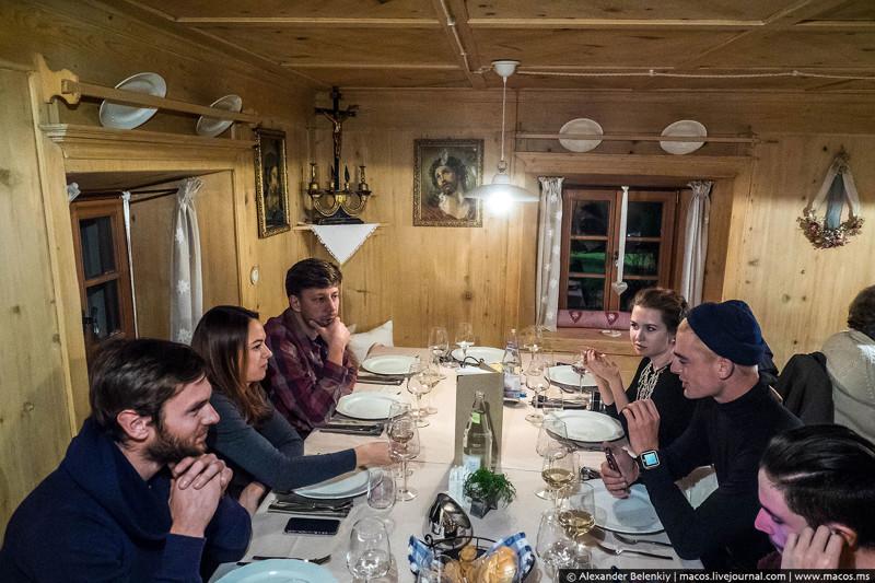 Какедят вЕвропе: Двухсотлетний ресторан!