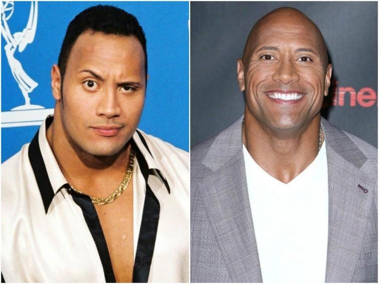Каквыглядели знаменитые лысые актеры дотого, какпотеряли свои волосы