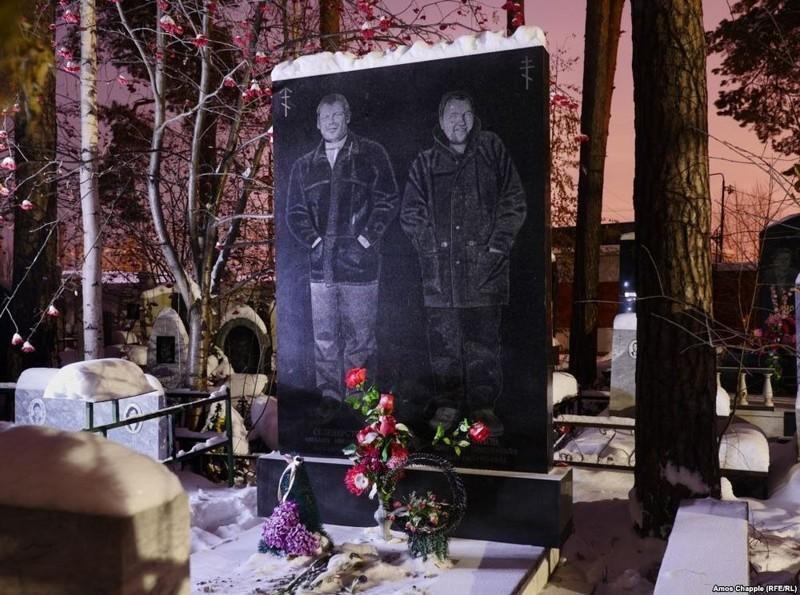 Роскошные надгробия бандитского кладбища подЕкатеринбургом