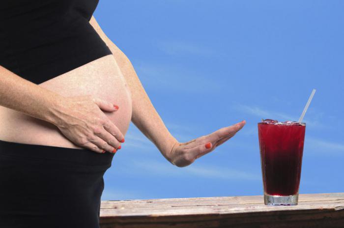 Алкоголь во время беременности негативно влияет на уровень IQ будущего ребенка