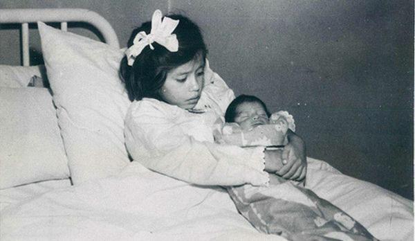 Самая молодая мать вистории родила ребенка впять лет!