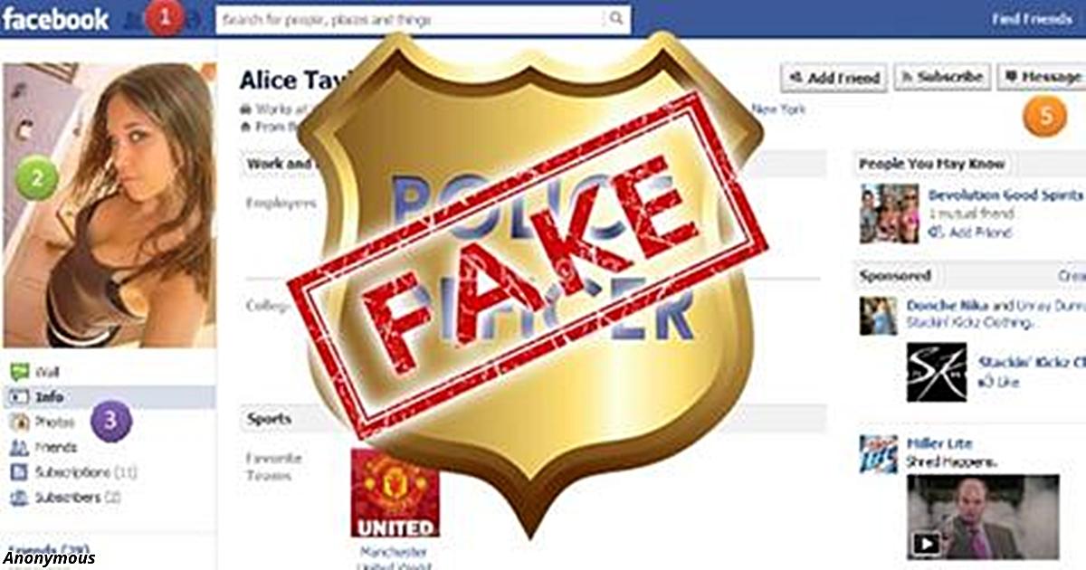 Полиция создает фейковые аккаунты, чтобы следить за ВСЕМИ! Вот как их найти!