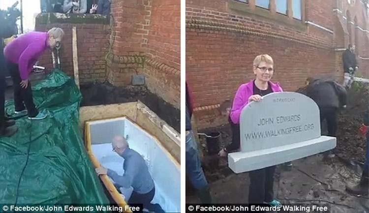 Бывший наркоман похоронил себя заживо вгробу сWi-Fi иэлектричеством