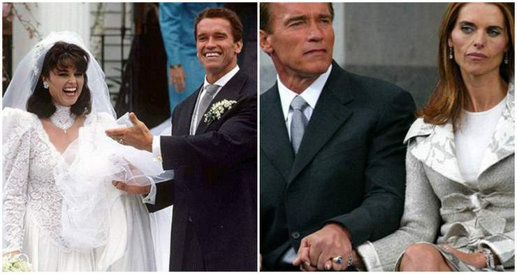 12 знаменитых звездных пар в день свадьбы и развода