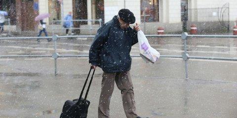 Сегодня, 2 июня, в Москве и Петербурге выпал снег! Вот фото