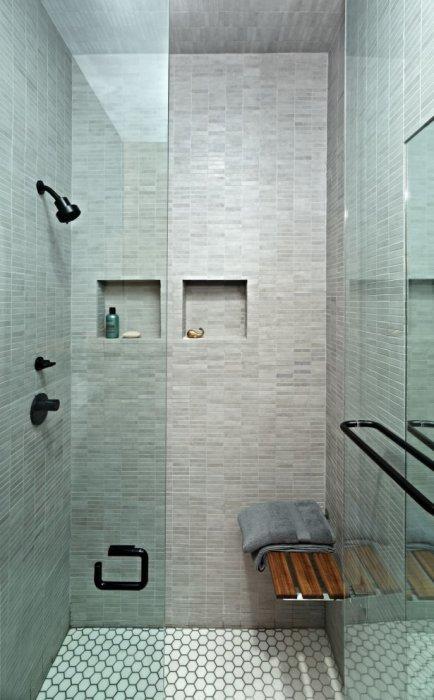 Квартира-студия площадью всего 46 кв. метров,  в которой все продумано до мелочей