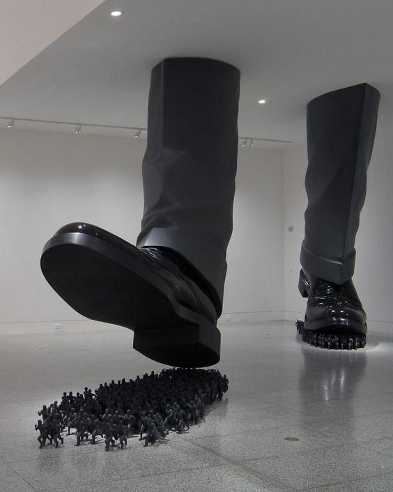 Авыугадаете, какие социальные проблемы общества освещают этиарт-объекты?