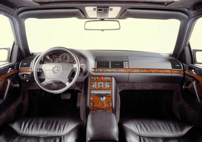 Автомобиль Mercedes Benz W140: отзывы и характеристики