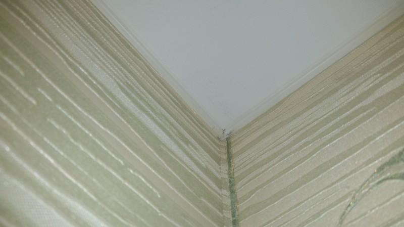 Какяделал натяжной потолок накухне