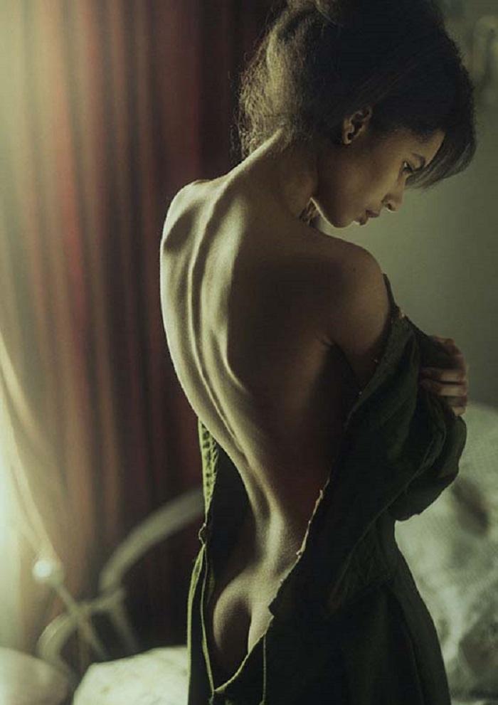 Смесь эротики и невинности... Невероятно чуственные снимки талантливого украинского фотографа.