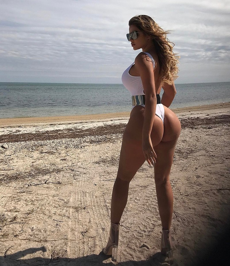 Забудьте оКимКардашьян! Встречайте - Анастасия Квитко, русская девушка свпечатляющими формами