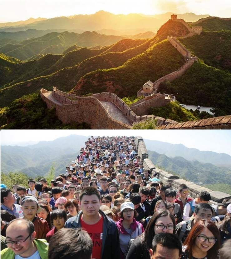 Путешествия по миру: ожидание и реальность…