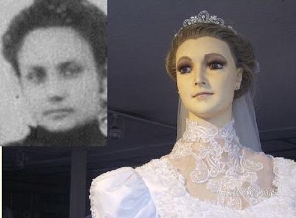 Дочь владельца этого магазина умерла незадолго до свадьбы. Через 9 дней в витрине появился новый манекен...