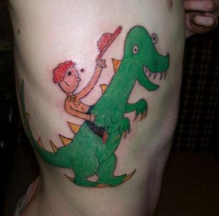 15работ, после просмотра которых, выпередумаете делать татуировку