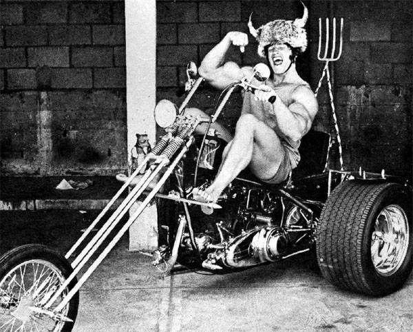 Автомобили имотоциклы вжизни Арнольда Шварценеггера
