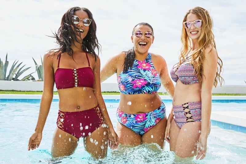 Вэтой рекламе купальников выненайдёте одной маленькой вещи — фотошопа