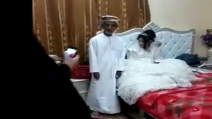 Пользователи совсего мира возмущены свадьбой 80-летнего старика и12-летней девочки
