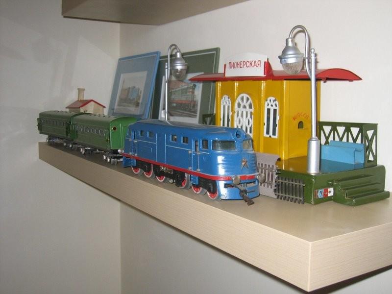 Мечта советского детства игрушечная железная дорога