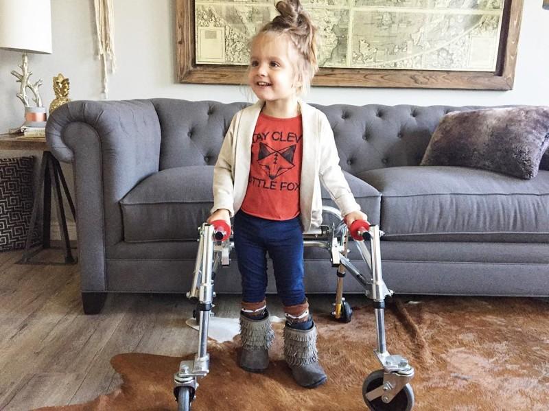 Этатрехлетняя малышка сДЦПстала новой иконой стиля