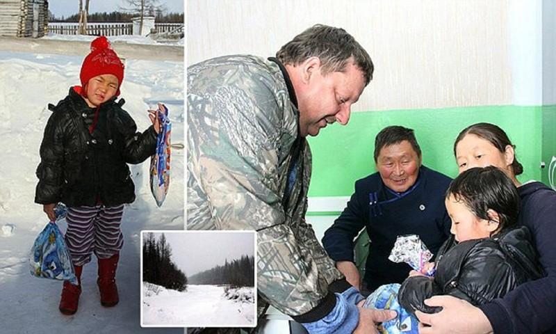 4-летняя девочка привела помощь кродным через зимнюю тайгу!
