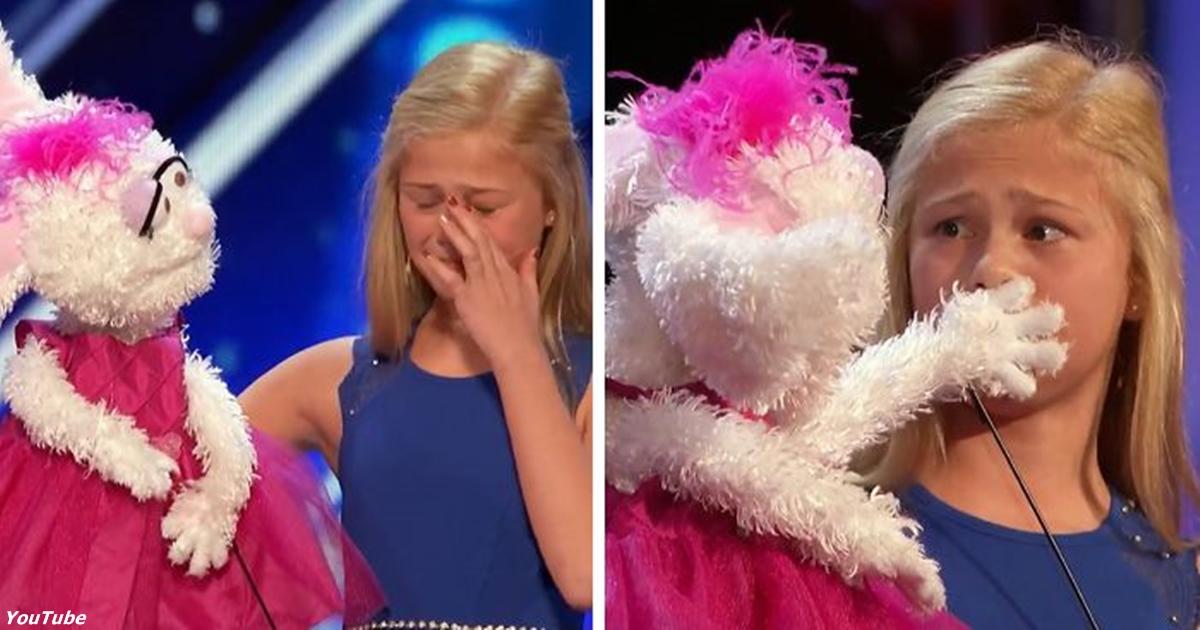 12-летняя девушка вышла на сцену шоу талантов. Такого мир еще не видел!