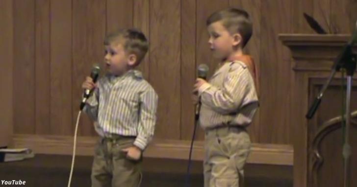 Когда его брат схватил микрофон, произошло то, чего никто не ожидал