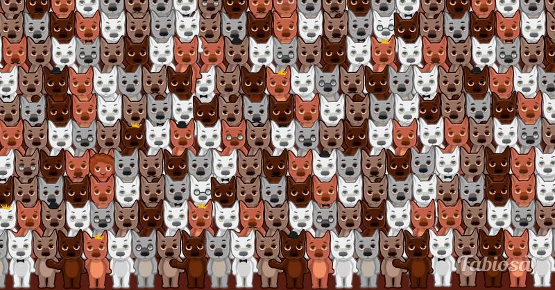 А вы сможете отыскать овечку среди волков за 15 секунд? Тест для самых внимательных!